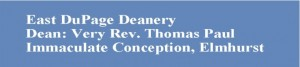 East DuPage Deanery banner