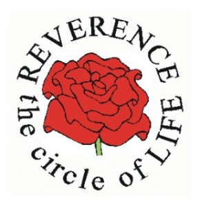 Reverence for Life logo