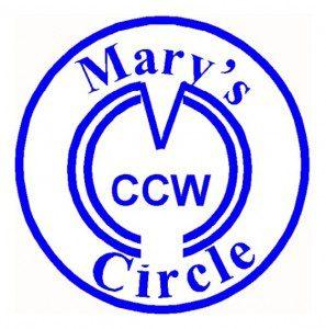 Mary's Circle - blue
